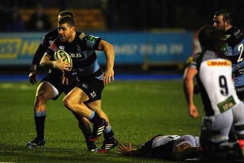 Cardiff Blues 35 Harlequins 5