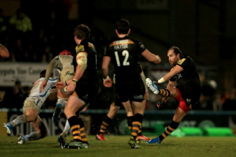 London Wasps 19 Exeter Chiefs 16