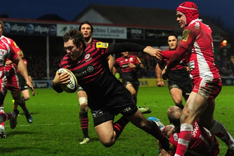 Gloucester Rugby 8 Saracens 29