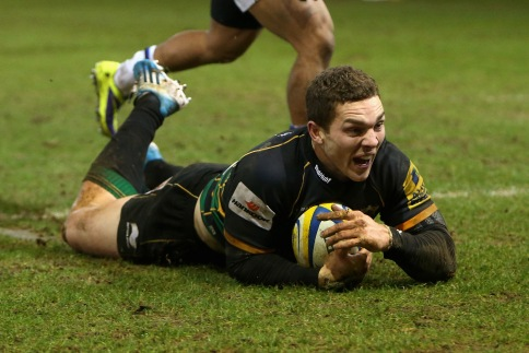 Northampton Saints 43 Bath Rugby 25.