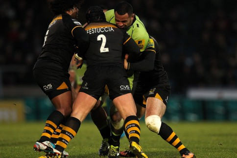 London Wasps 15 Northampton Saints 17