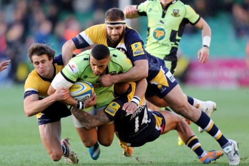 Worcester Warriors 10 Northampton Saints 33