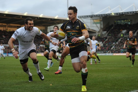 Northampton Saints 18 Newcastle Falcons 0
