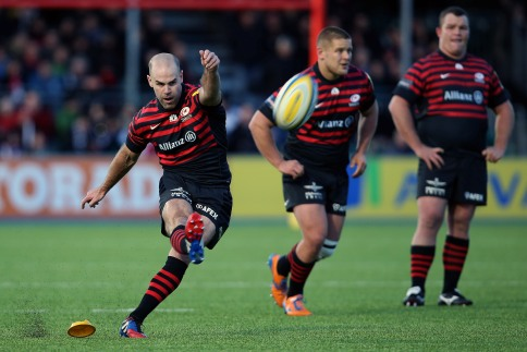 Saracens 40 Newcastle Falcons 3
