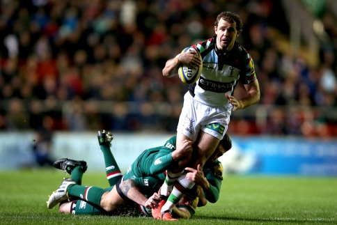 Leicester Tigers 16 Harlequins 23