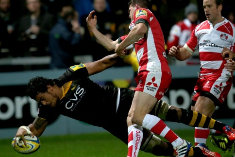 Gloucester Rugby 30 London Wasps 32