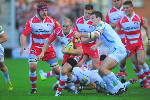 Gloucester Rugby 12 Exeter Chiefs 29