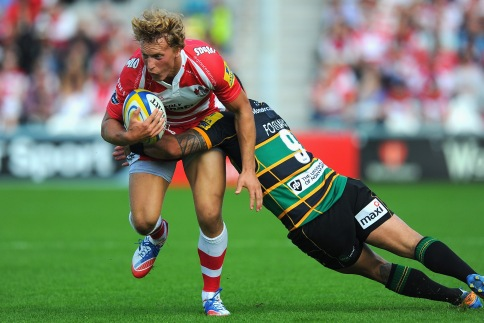 Gloucester Rugby 26 Northampton Saints 24