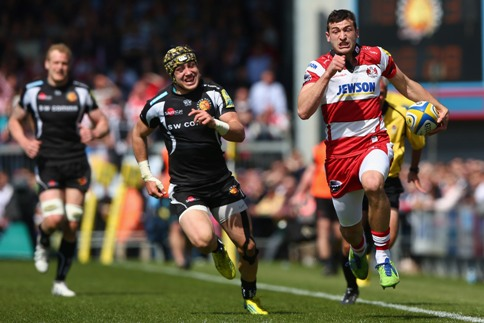 Exeter Chiefs 40 Gloucester Rugby 39