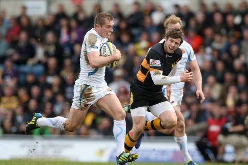 London Wasps 24 Exeter Chiefs 37