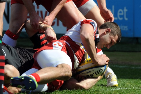 Gloucester Rugby 28 Saracens 23