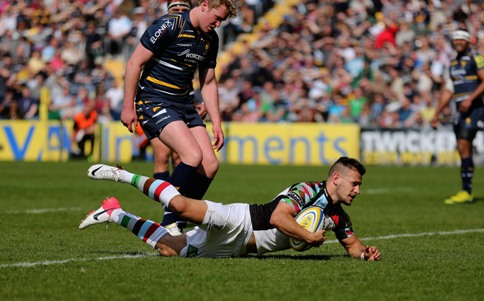 Worcester Warriors 26 Harlequins 42