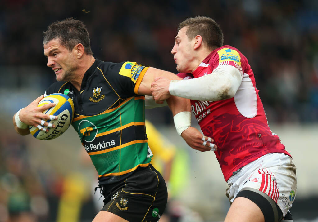 London Welsh 14 Northampton Saints 31