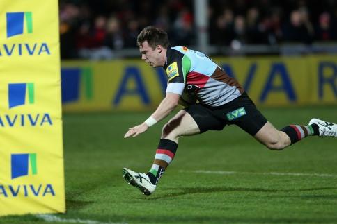 Gloucester Rugby 17 Harlequins 15