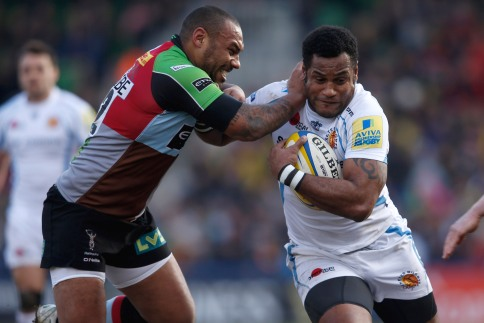 Harlequins 16 Exeter Chiefs 27