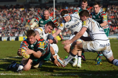 Leicester Tigers 48 Sale Sharks 10