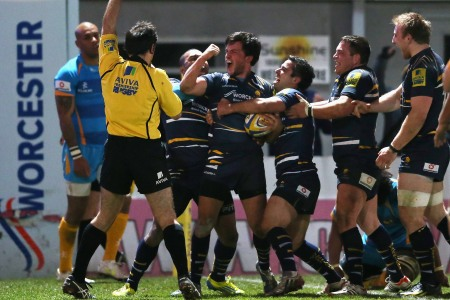 Worcester Warriors 29 London Wasps 23