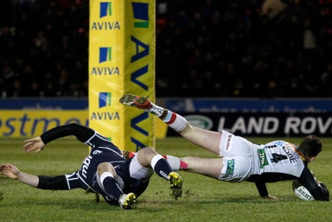 Sale Sharks 21 Harlequins 30