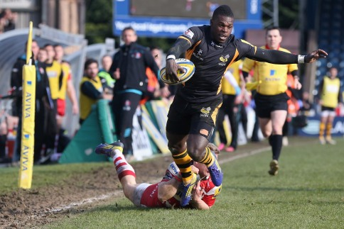 London Wasps 33 Gloucester Rugby 29