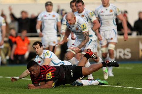 Saracens 31 Exeter Chiefs 11