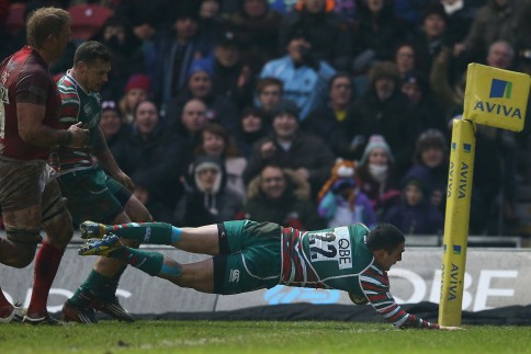 Leicester Tigers 28 London Welsh 12