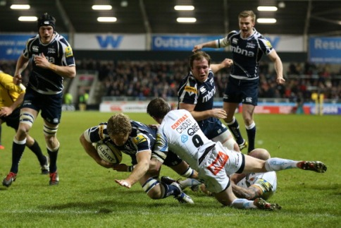 Sale Sharks 21 Exeter Chiefs 16