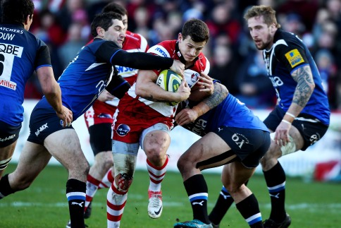 Gloucester Rugby 5 Bath Rugby 32