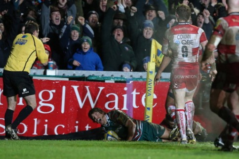 Leicester Tigers 17 Gloucester Rugby 12