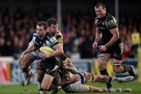 Exeter Chiefs 12 Bath Rugby 12
