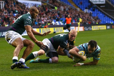 London Irish 9 Leicester Tigers 31