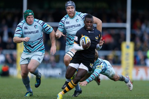 London Wasps 14 Leicester Tigers 12