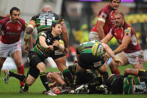 Northampton Saints 23 London Welsh 16