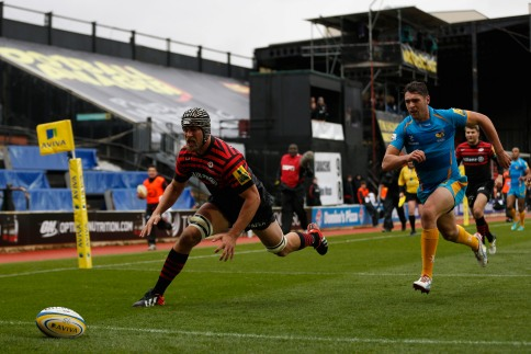 Saracens 29 London Wasps 24