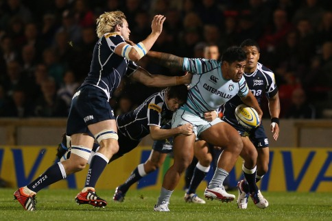 Sale Sharks 8 Leicester Tigers 20