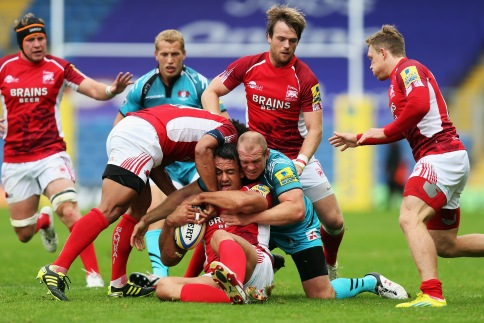 London Welsh 25 Gloucester Rugby 31
