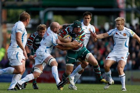 Leicester Tigers 30 Exeter Chiefs 8
