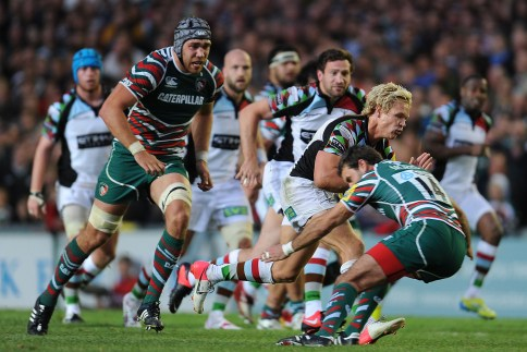 Leicester Tigers 9 Harlequins 22
