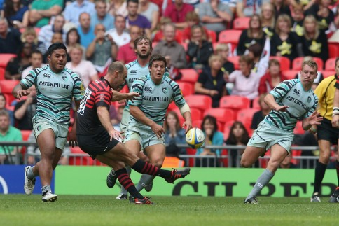 Saracens 9 Leicester Tigers 9
