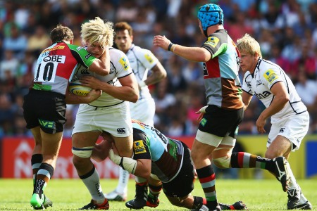 Harlequins 37 Sale Sharks 14