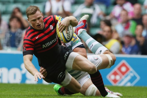 Two-try debut for Ashton as Sarries take Twickenham spoils