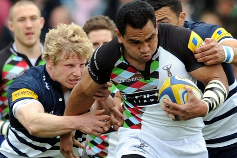 Quins cruise to Edgeley Park win to secure top spot