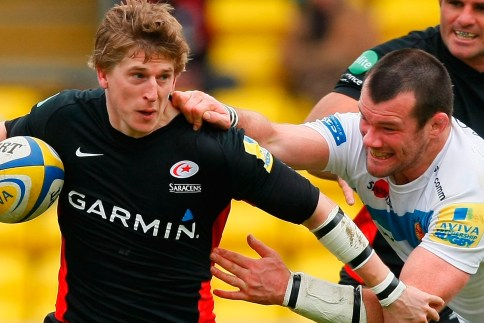 Saracens come from behind to snuff Chiefs semi-final hopes