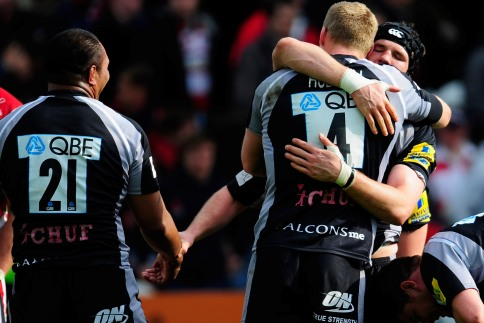 Falcons given a glimmer of hope following Gloucester win