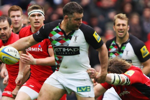 Quins spoil Saracens' Wembley party