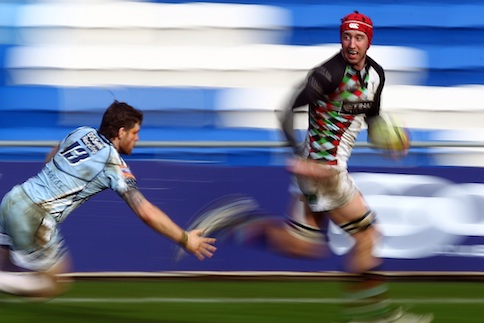 Blues pip Quins in entertaining thriller