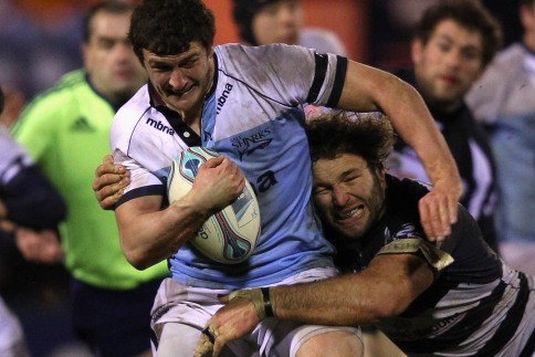 Sale knockout hopes washed away in Stockport rain