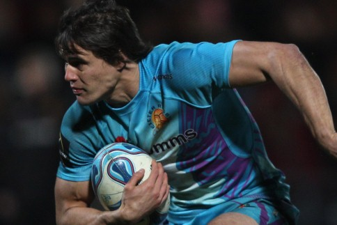 Mieres the Dragons slayer at Sandy Park