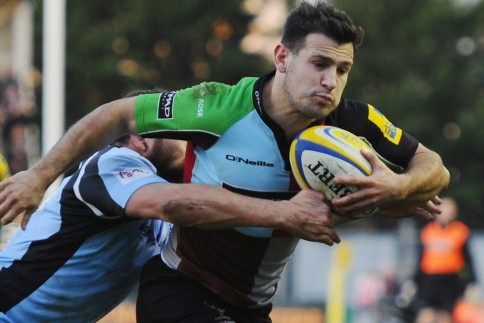 Quins cruise past Falcons to maintain perfect start