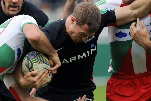 Saracens salvage bonus point in Biarritz