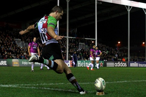 Quins hold off Connacht to continue perfect start